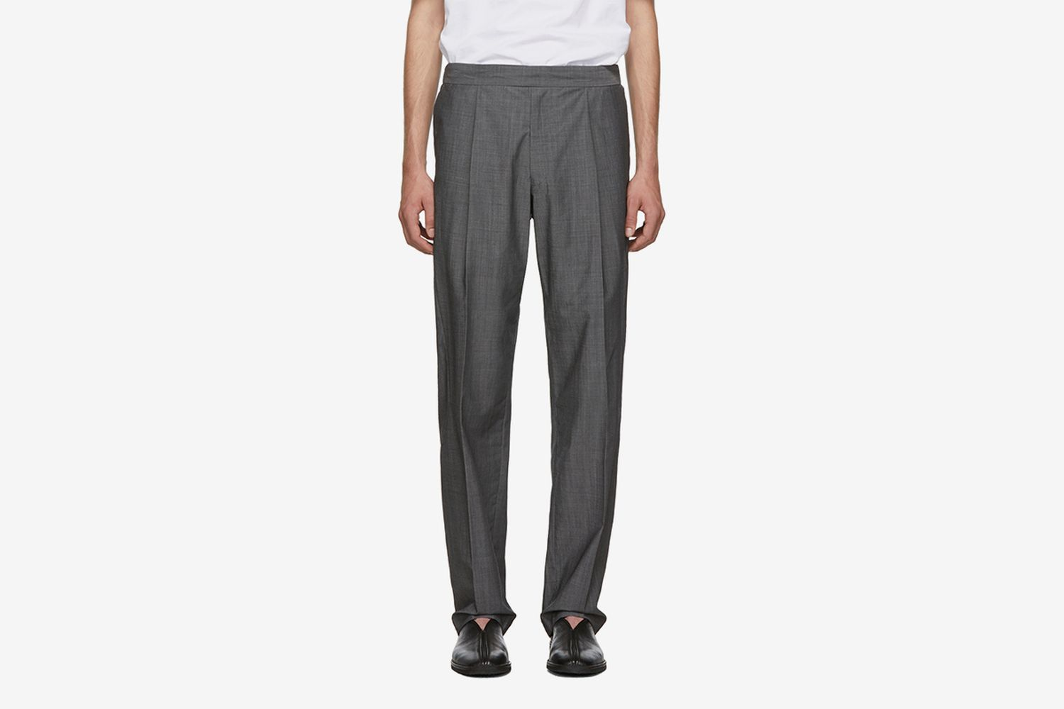 Wool Voile Trousers