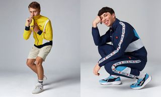 ellesse Drops New Acid Rave-Inspired SS19 Collection