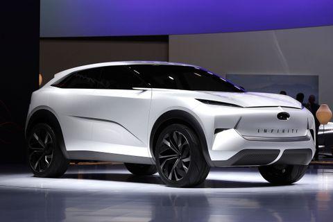 infiniti qx inspiration Inifiniti Lexus detroit auto show
