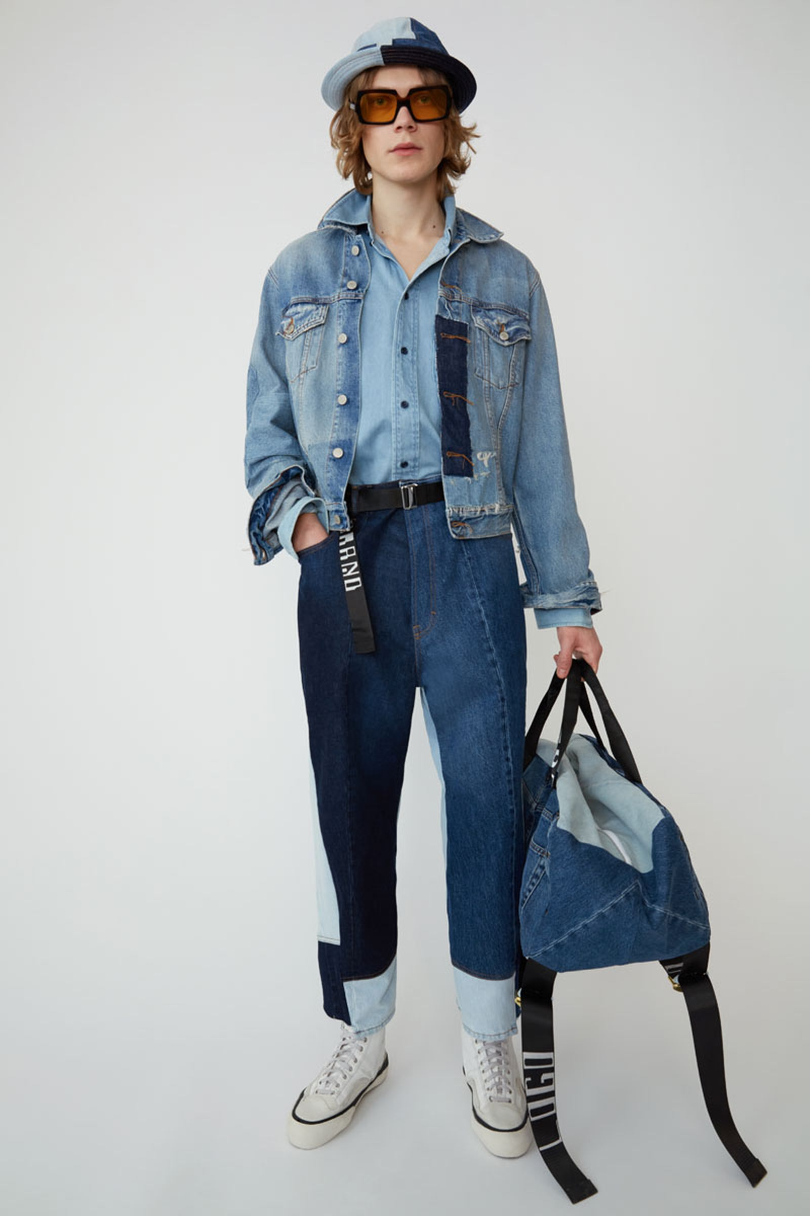 1acne studios ss19 denim collection