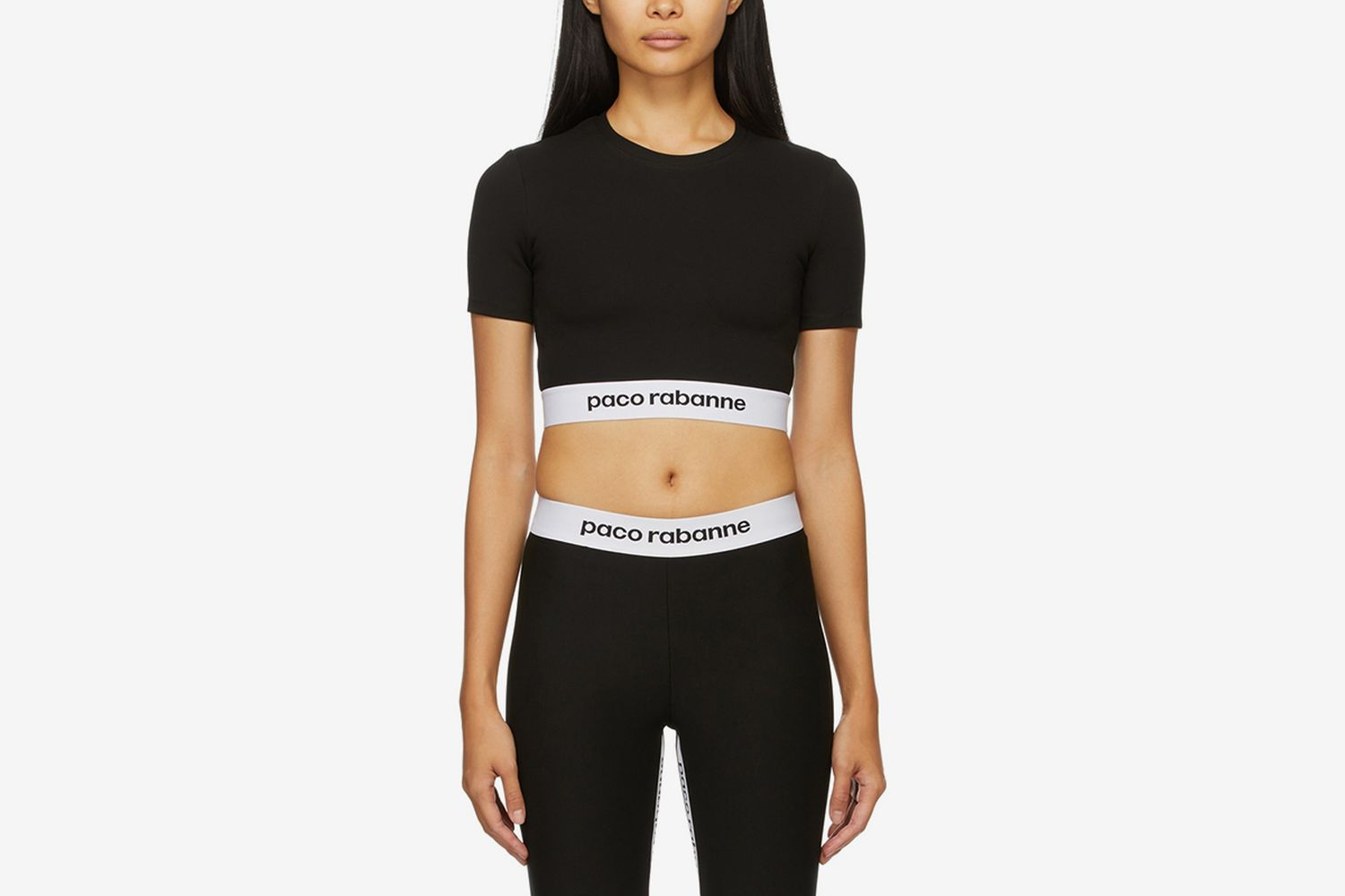 Cropped Active Logo Sport Top