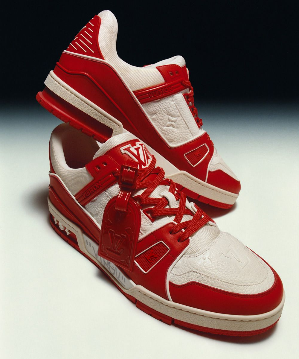 This Sample (RED) x LV Trainer Is Being Auctioned Off for Charity 5