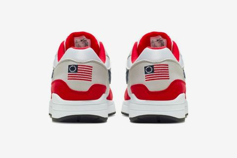 Nike pulls 'offensive' Betsy Ross American flag shoes after Colin Kaepernick complains