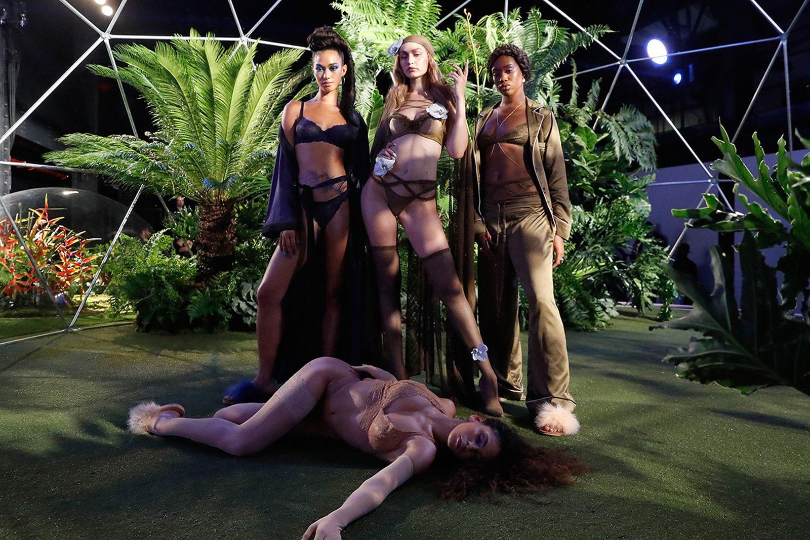 rihanna savage fenty fw18 Savage x Fenty new york fashion week runway