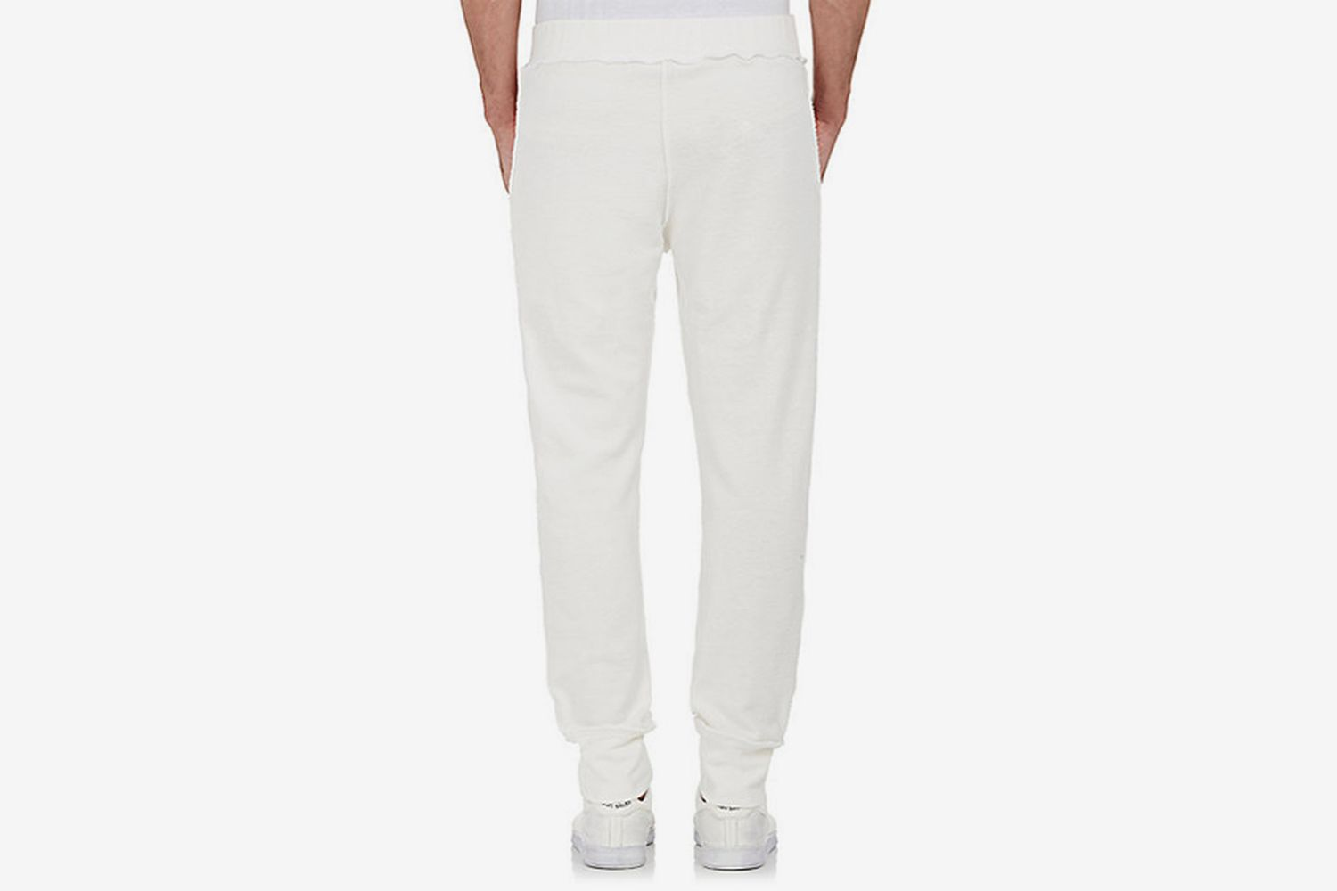 """""""Inside-Out"""" Cotton Terry Jogger Pants"""