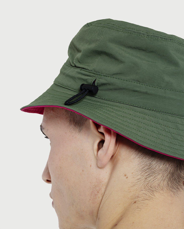 Gramicci -  Kids Shell Reversible Hat Olive/Raspberry - Image 3