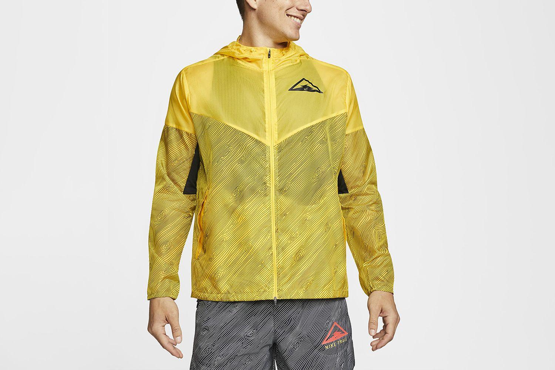 Windrunner Hooded Trail Running Jacket