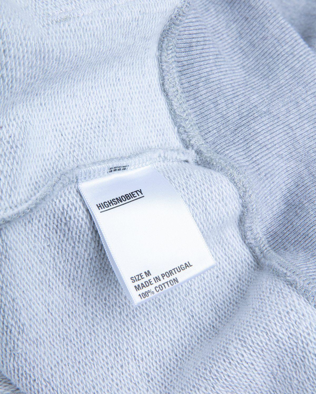 Highsnobiety — Not In Paris 3 x Galerie Perrotin Hoodie Grey - Image 5