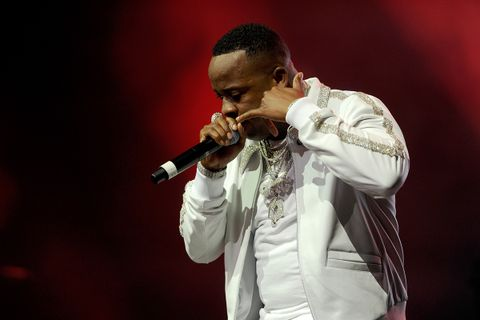 Yo Gotti performs onstage during the 6th Yo Gotti Birthday Bash at FedExForum