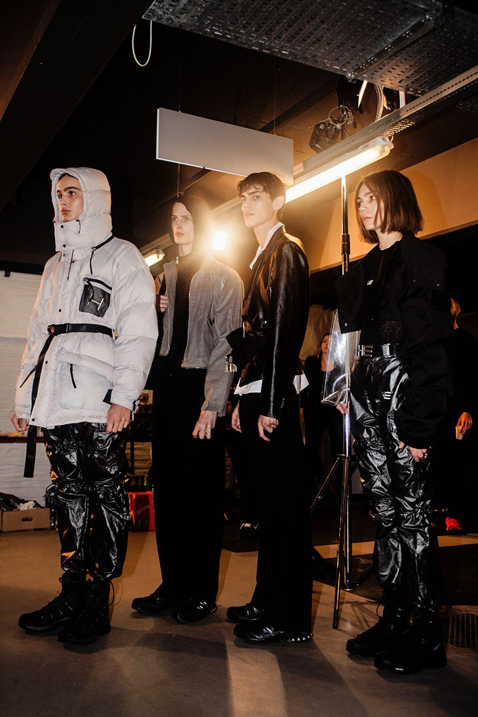 heliot emil fw18 Copenhagen Fashion Week runway