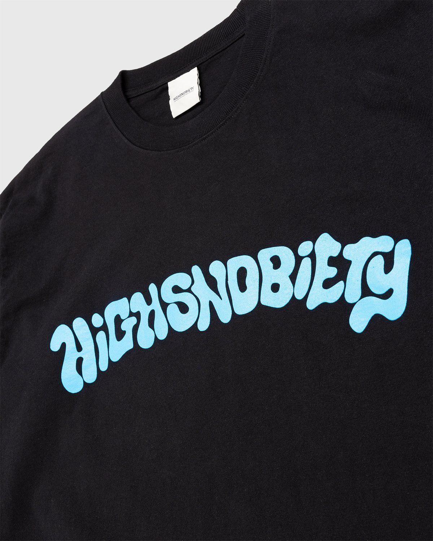 Highsnobiety – Arch Logo Longsleeve Black - Image 3