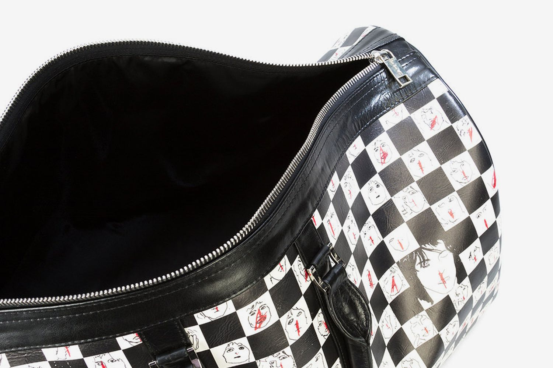 Checkered Duffle Bag