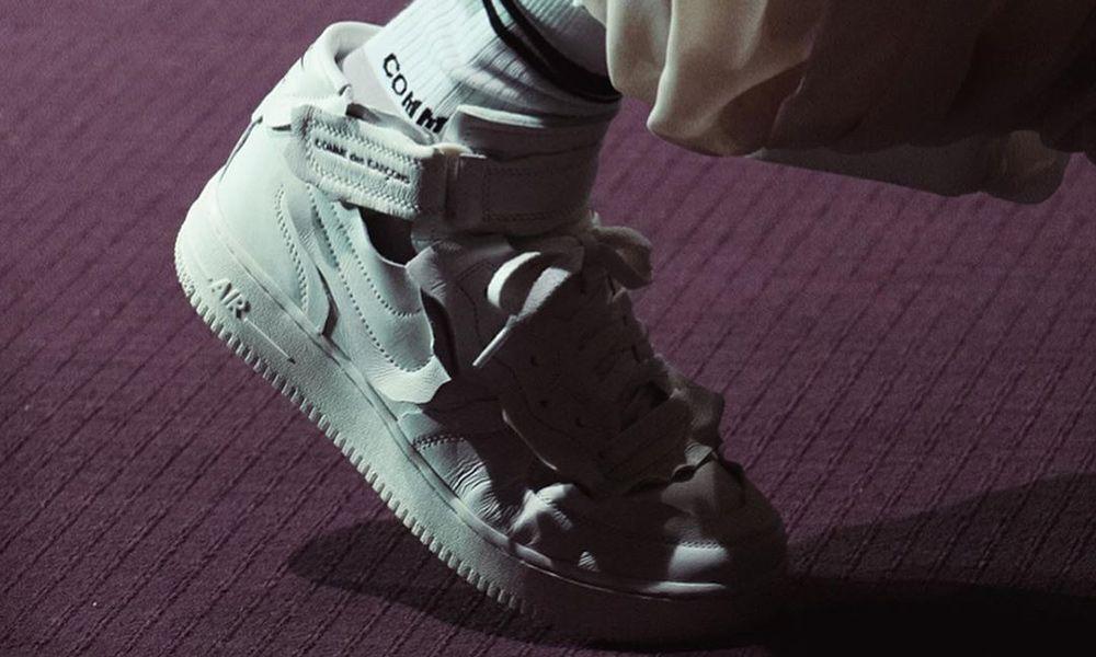 vendible brillo encantador venta minorista COMME des GARÇONS x Nike Air Force 1 Mid: Official First Look