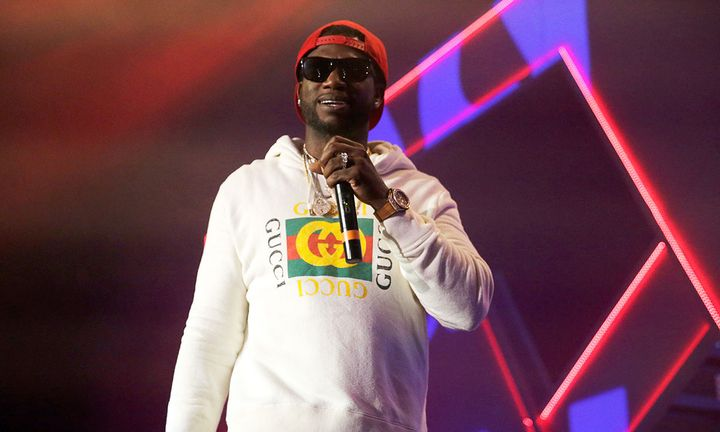Gucci Mane performing in Houston