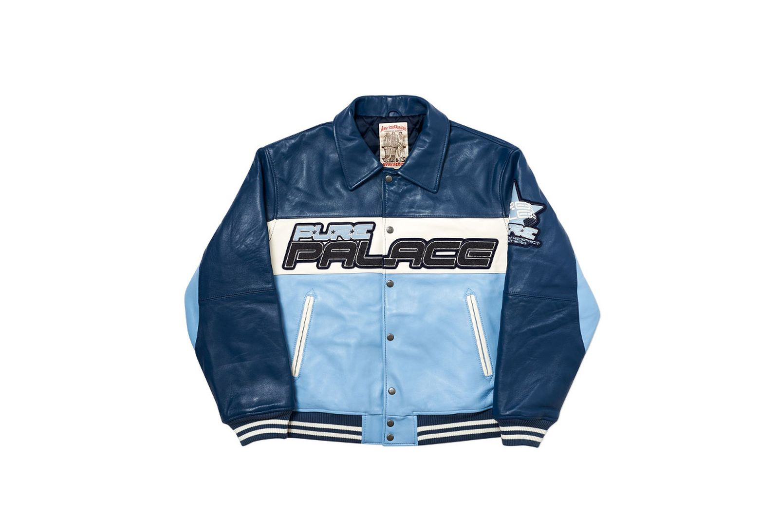 Palace 2019 Autumn Jacket Avirex blue fw19