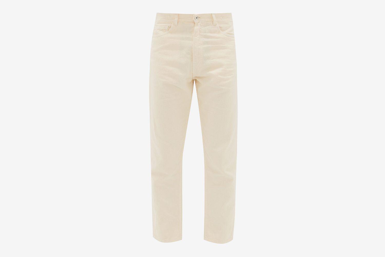 Cropped Slim-leg Jeans