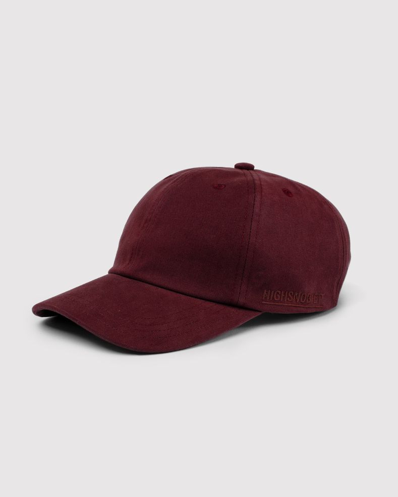 Highsnobiety Staples - Cap Burgundy
