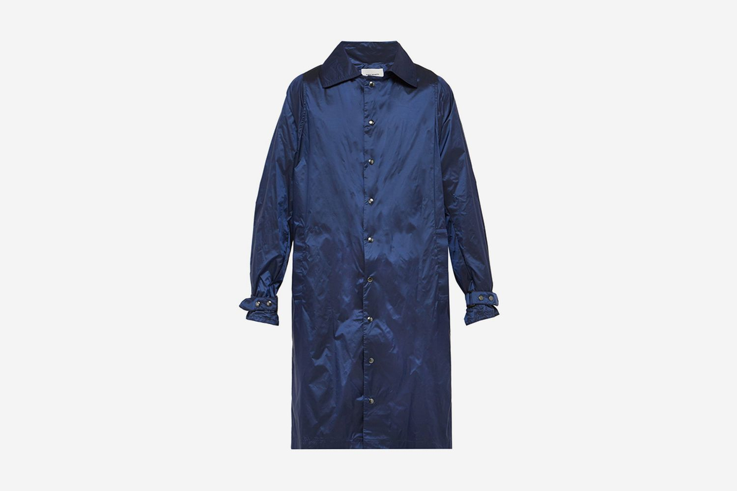 Technical Single-Breasted Coat