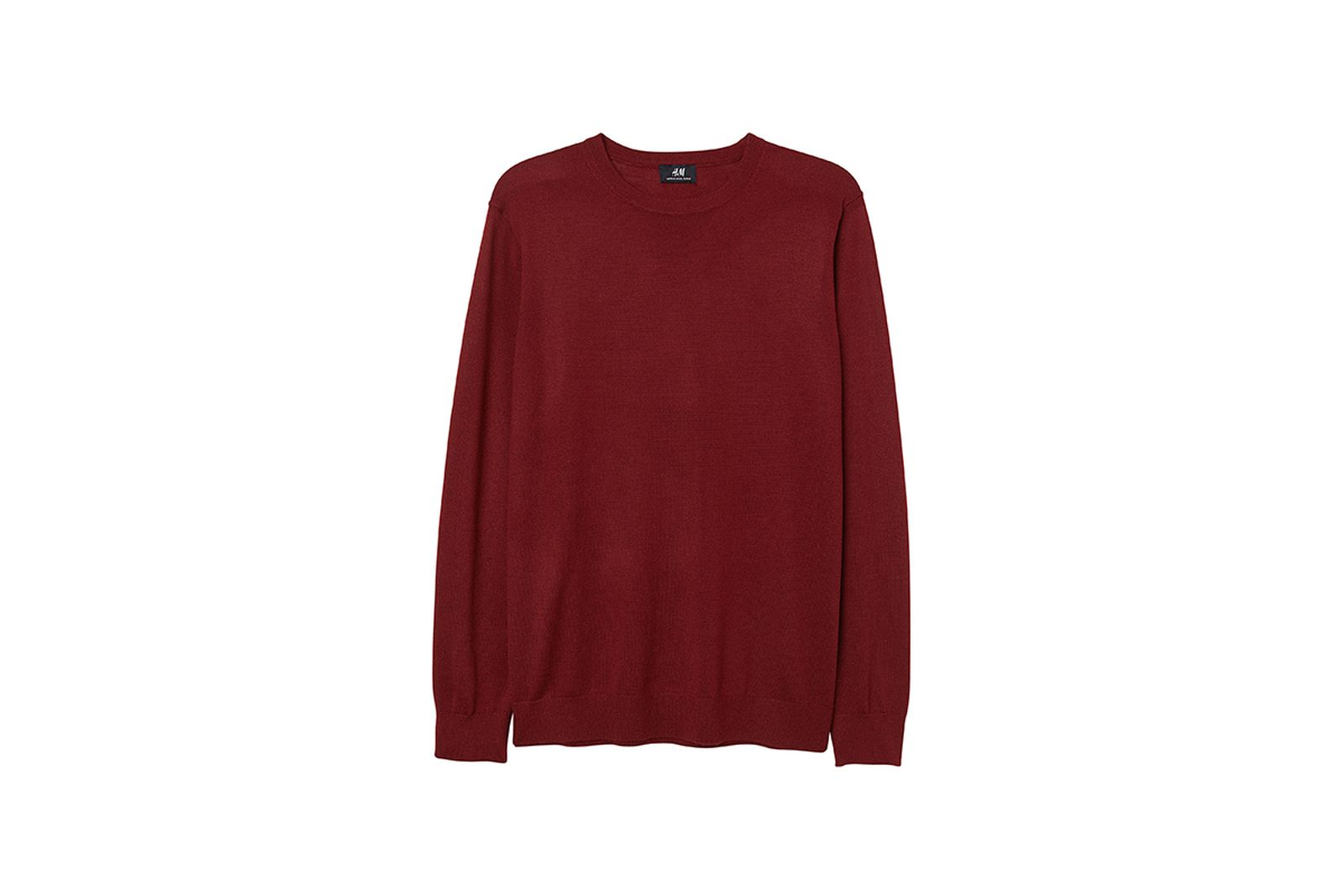 H&M Knit Merino Blend Sweater Gift Guide holiday