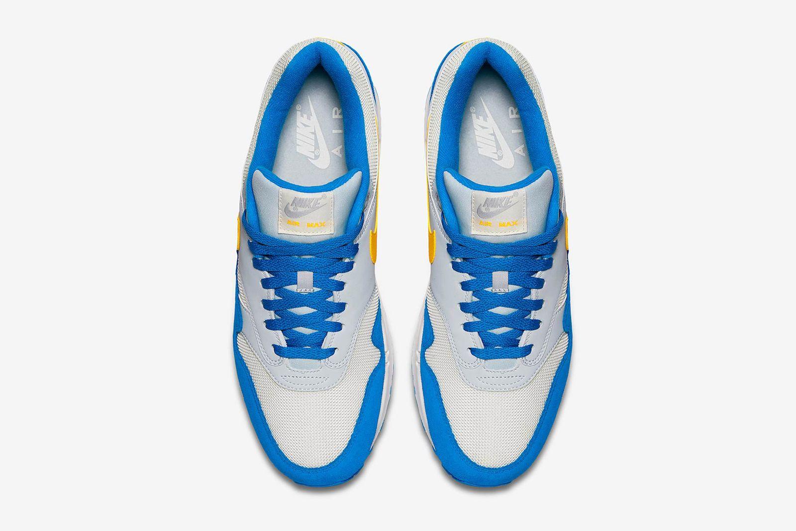 nike air max 1 amarillo signal blue release date price info