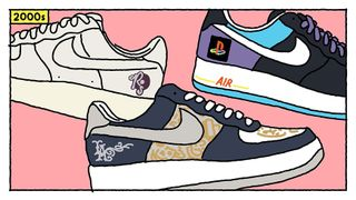 huge discount 3e7ec fefea Nike Shares an Illustrated History of the Air Force 1
