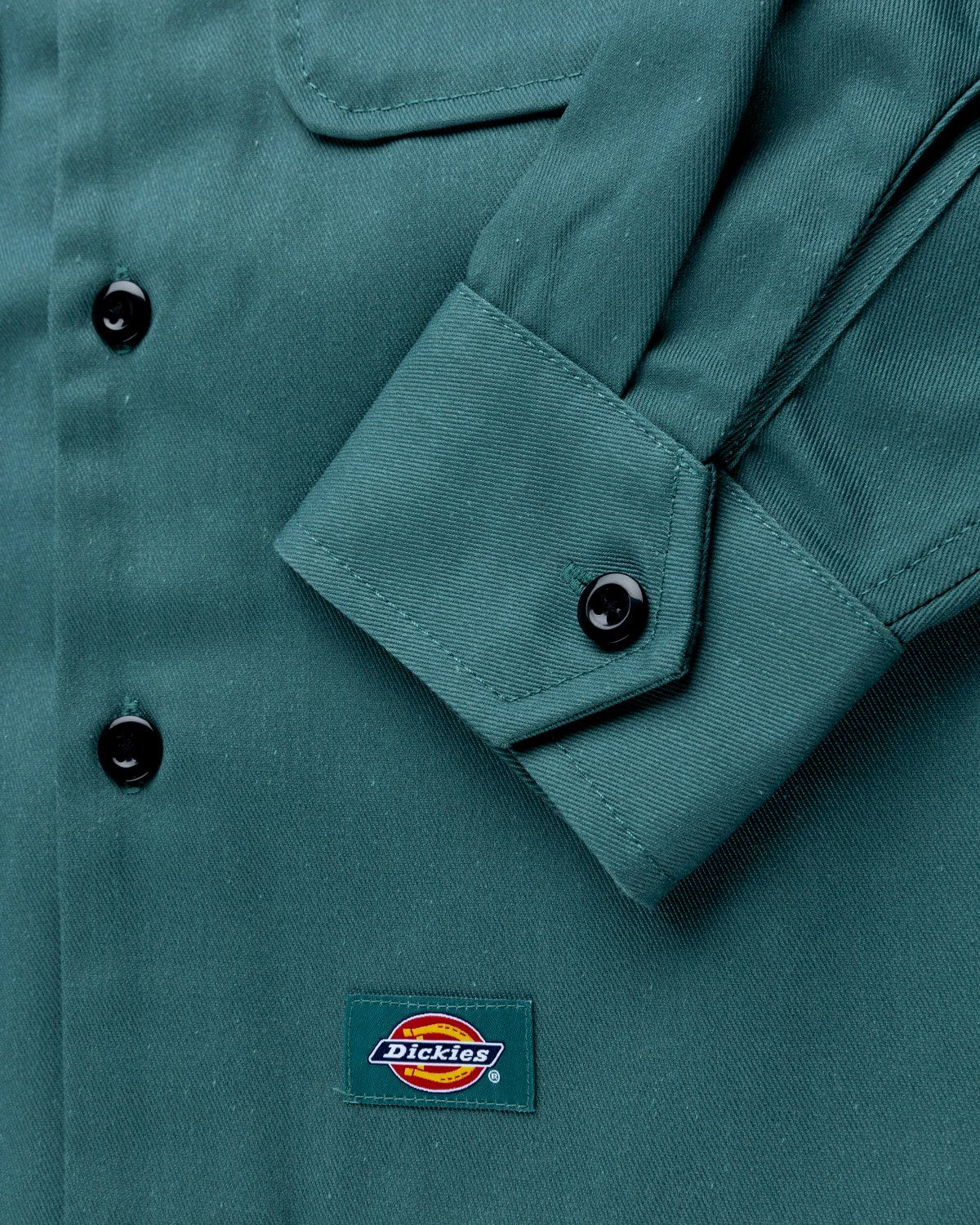 Highsnobiety x Dickies – Service Shirt Lincoln Green - Image 5