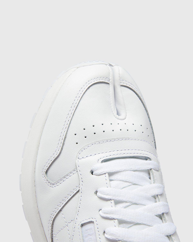 Maison Margiela x Reebok — Classic Leather Tabi White - Image 4