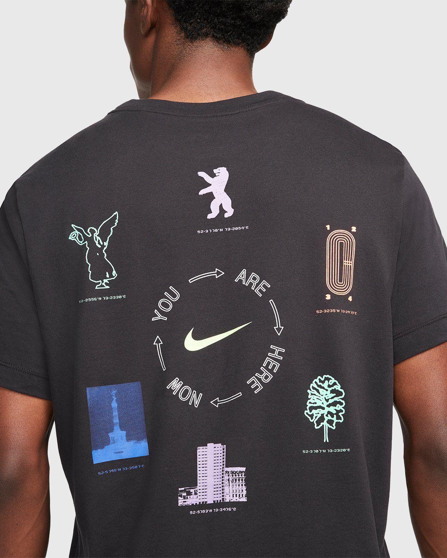 Nike x Highsnobiety – Dri-Fit Berlin T-Shirt Black - Image 4