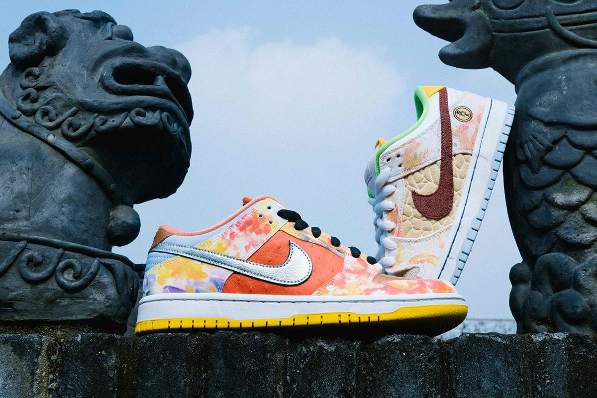 "Nike SB Appeals to Your Inner Foodie With the Dunk Low ""Street Hawker"" 41"