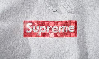 a53d93b3043 Larry Clark Models Supreme  8217 s 25th Anniversary Swarovski Box Logo  Capsule. Style. Larry Clark Models Supreme s ...