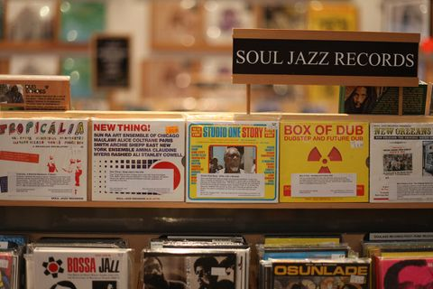 Best London Record Stores AMEX american express platinum music & record stores