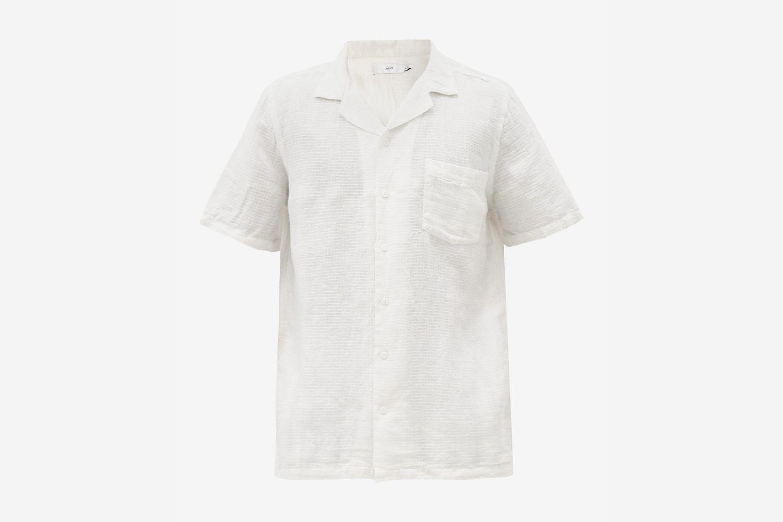 Vacation Linen-blend Shirt