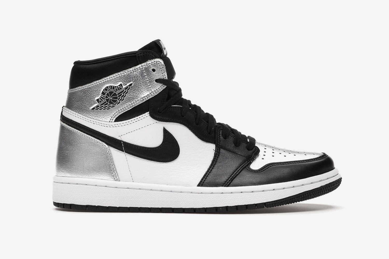 Air Jordan 1 Retro High Silver Toe (W)