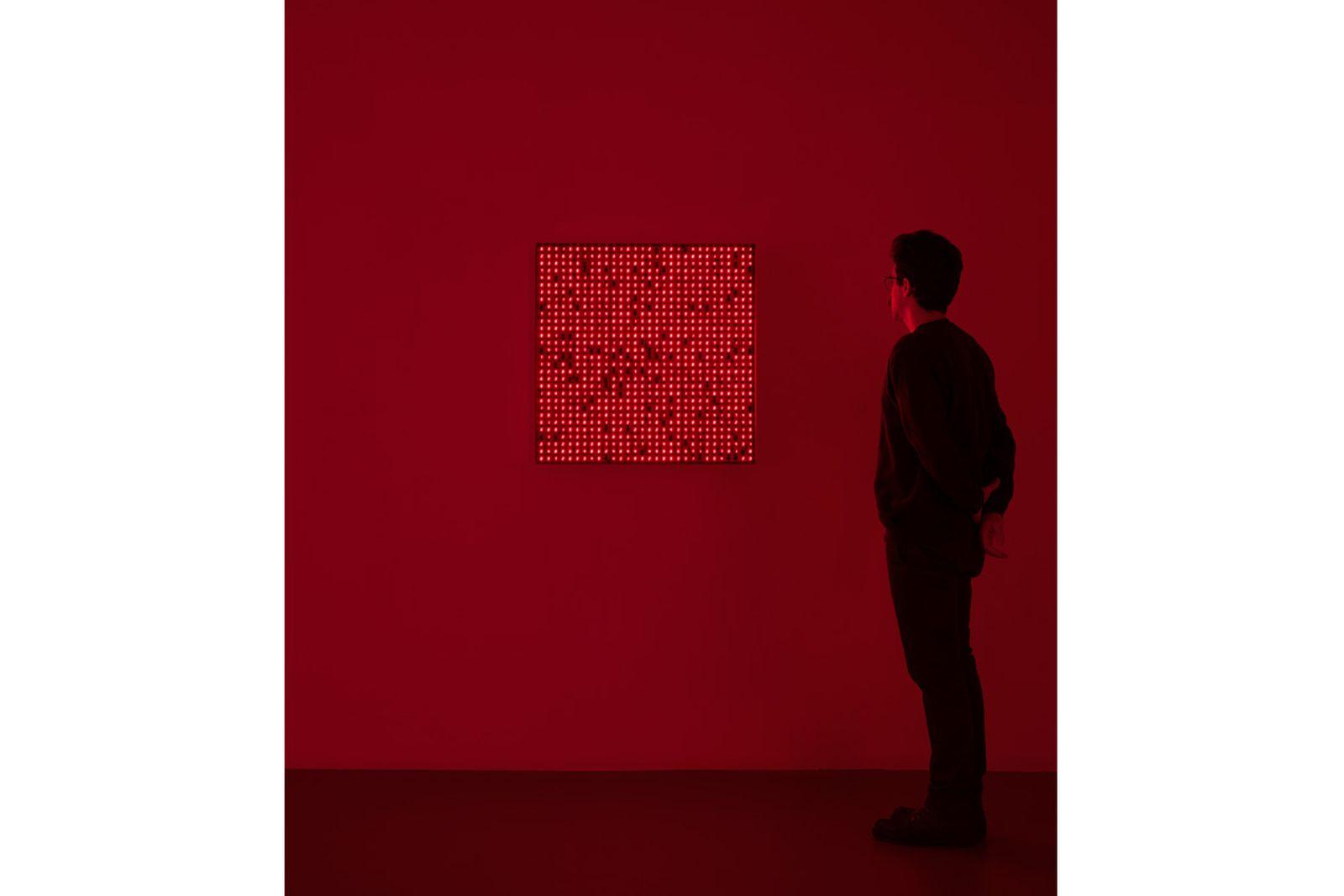 Tatsuo Miyajima exhibition Lisson Gallery