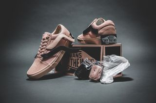 "61eb0568fb Here s How to Cop the Pink Purlicue x Vans Old Skool ""Year of the Pig"""