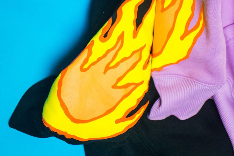Flaming Fairy Hoodie