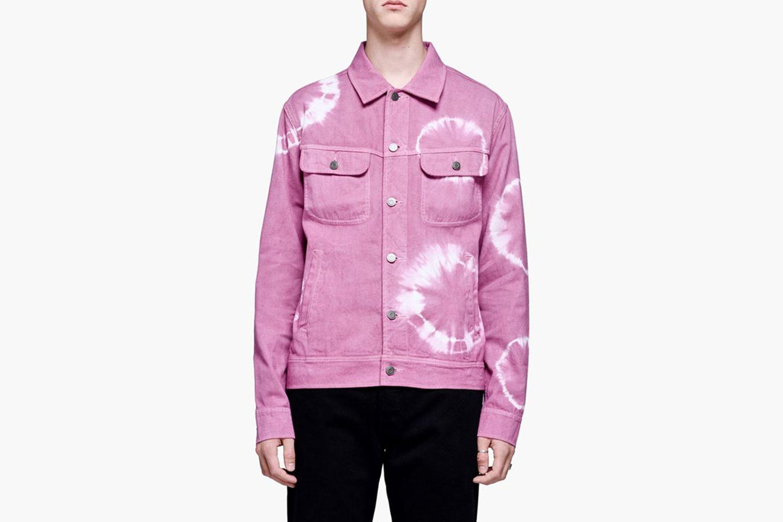 Dyed Trucker Jacket