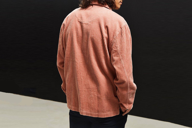 Ryder Corduroy Zip-Up Shirt