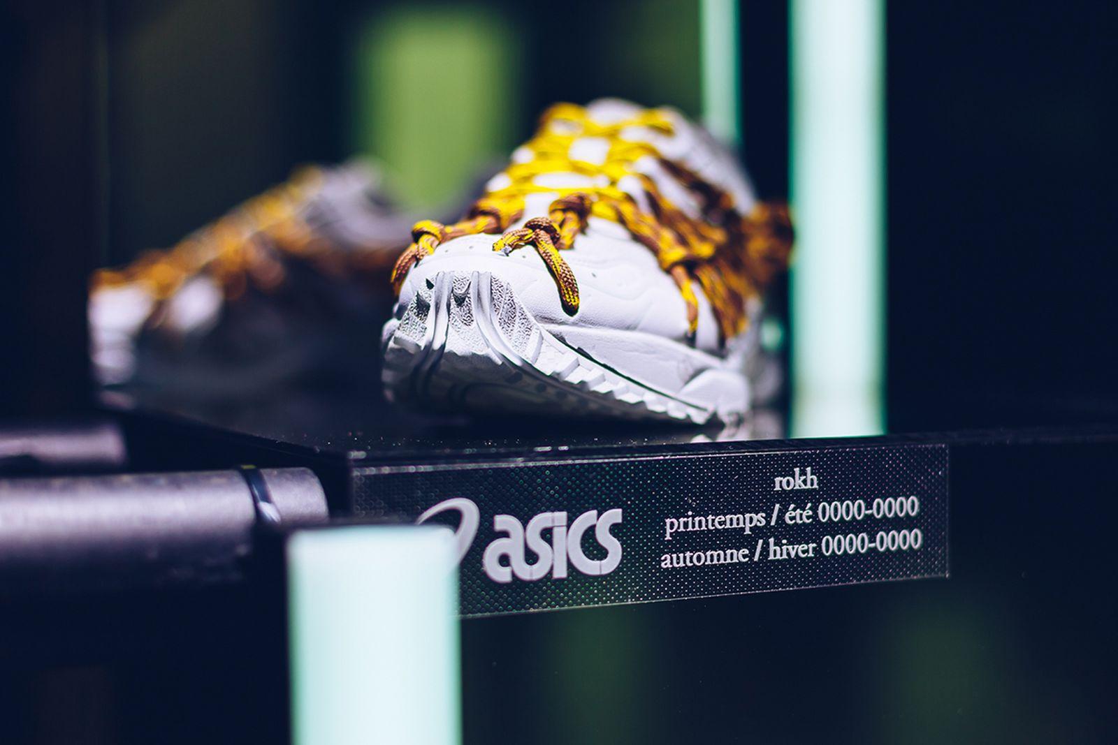 ASICS Introduces Partnership With rokh at Paris Fashion Week