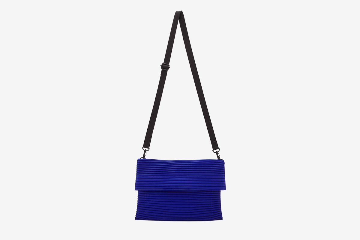 Small Pleated Flat Bag