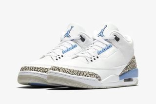 "wholesale sales new images of excellent quality Nike Air Jordan 3 ""UNC"": Official Images & Where to Buy This Week"