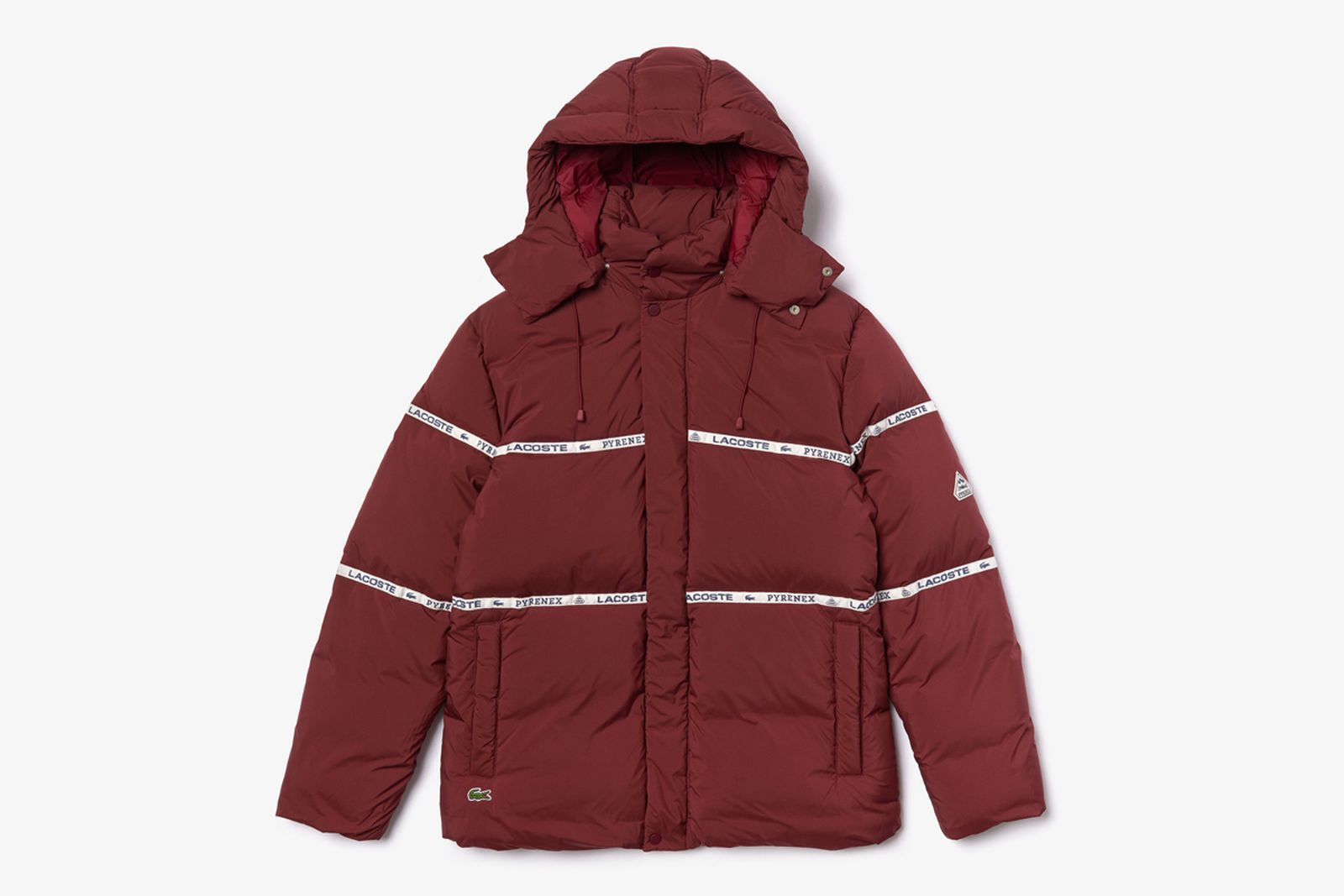 lacoste winter icons Pyrenex Alpha Industries gloverall k-way