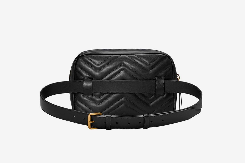 GG Marmont Matelassé Belt Bag