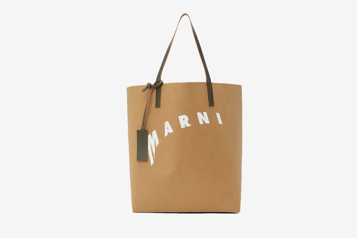 Distorted Logo Tote