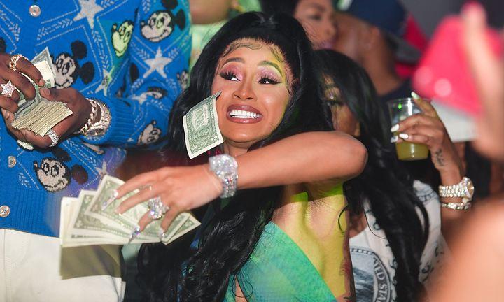 Cardi B cash
