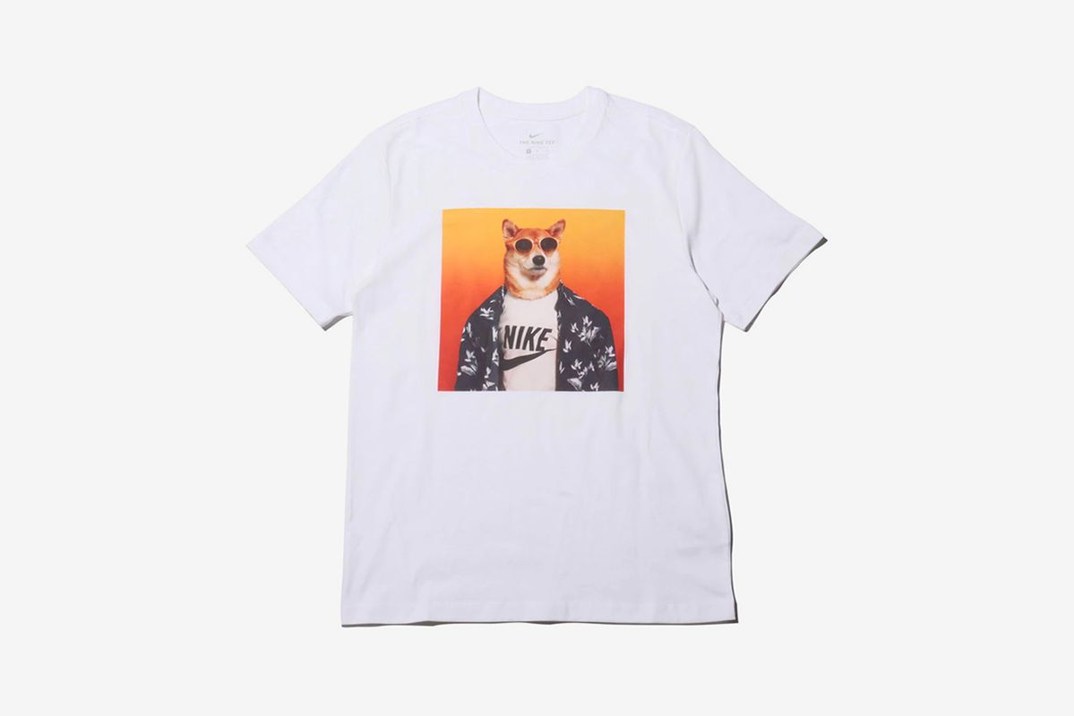 Nike's New Two-Piece Tee Capsule Is Covered in Shiba Inu Pups