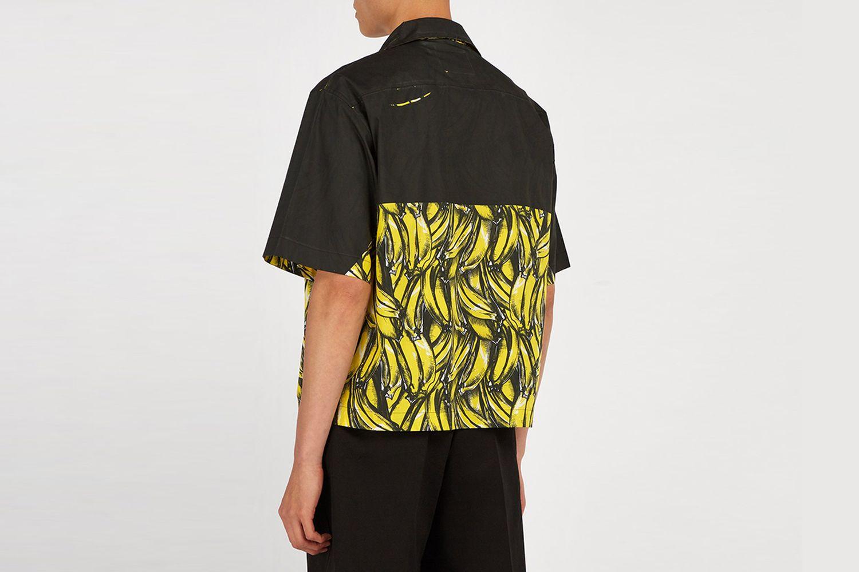 Banana Print Shirt