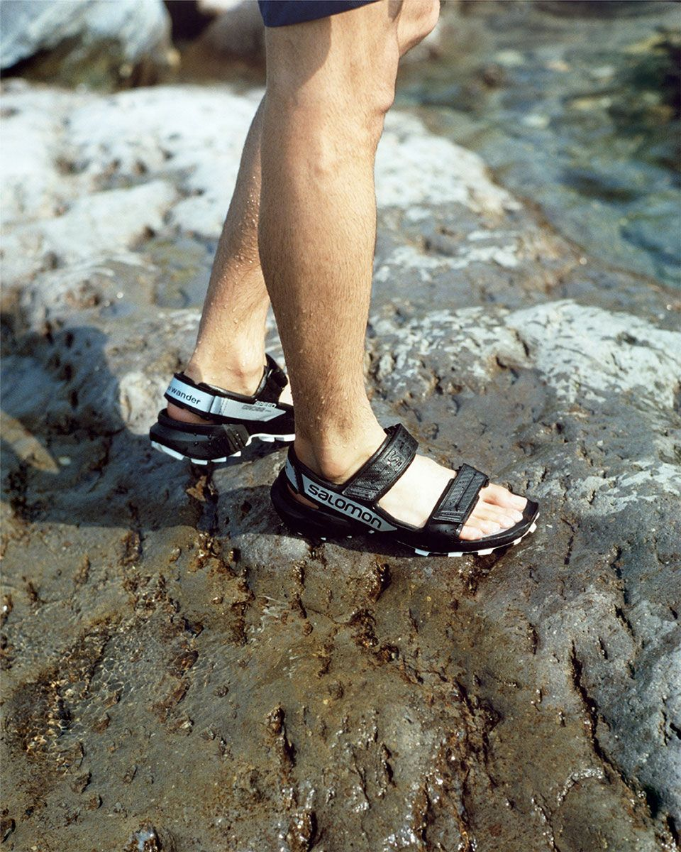 and wander's New Salomon Sandals Can Scale Mountains 35