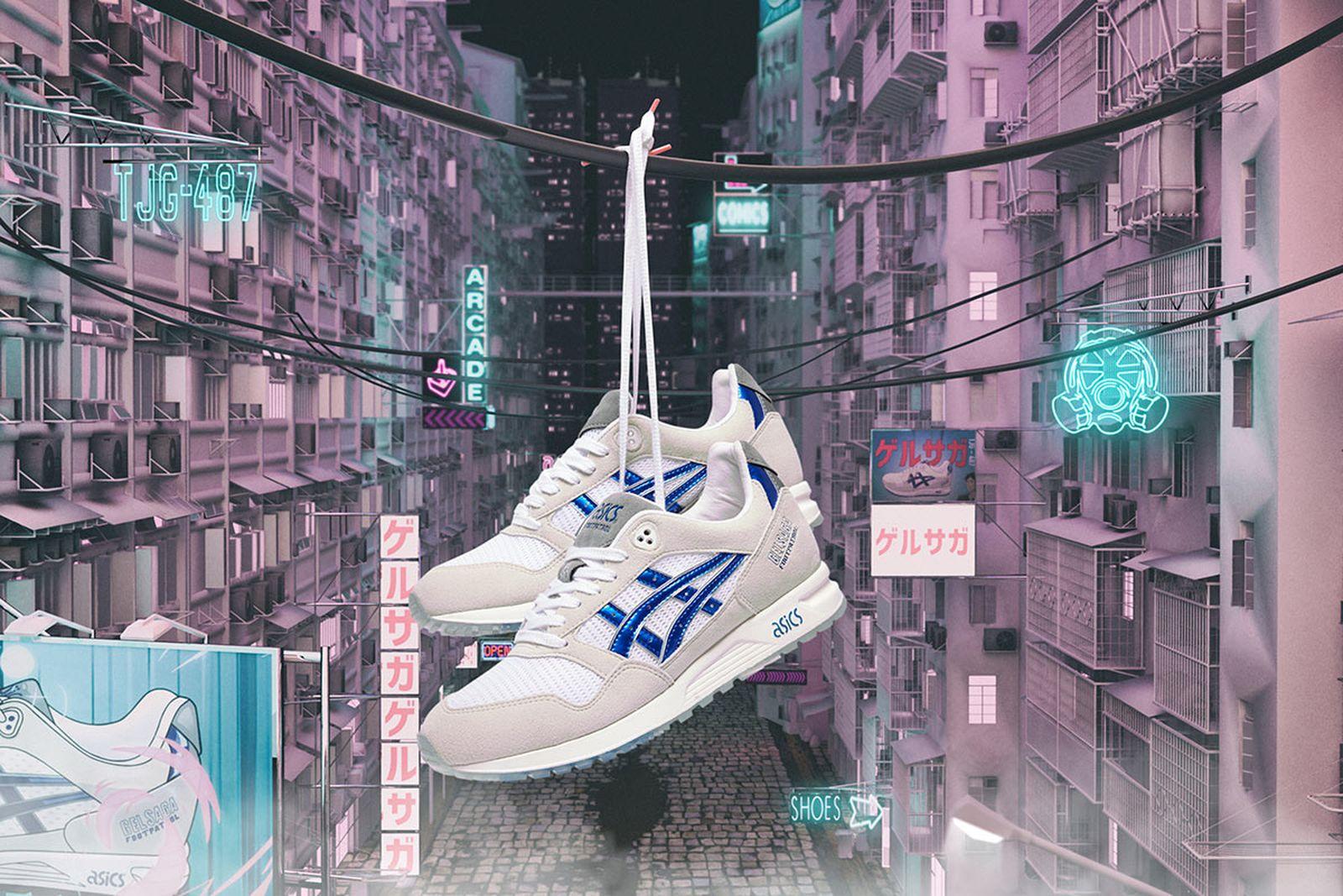 footpatrol asics gel saga anime release date price main
