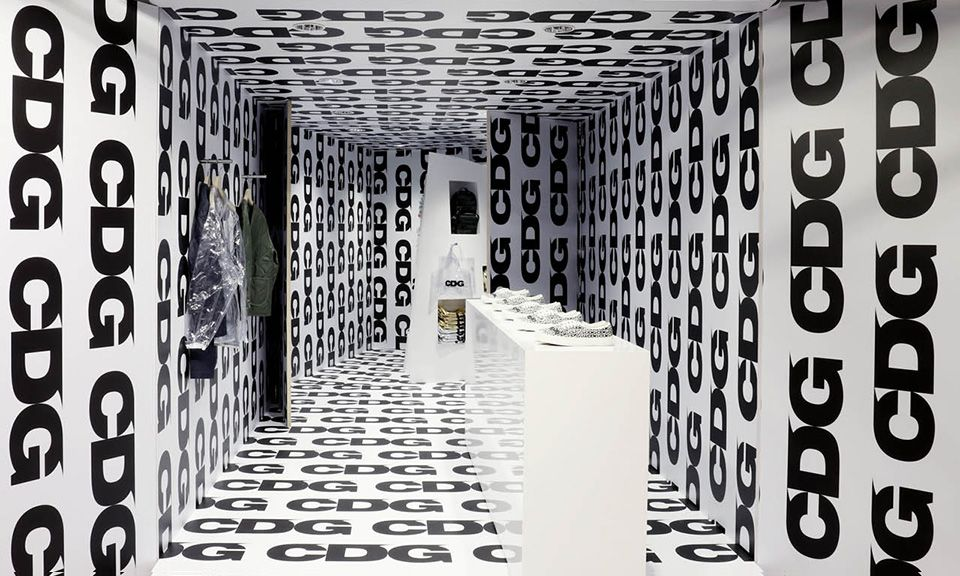 COMME des GARÇONS Heralds the Launch of New CDG Line With Special Retail Spaces